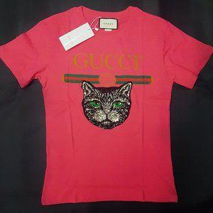 Gucci pink t-shirt tee